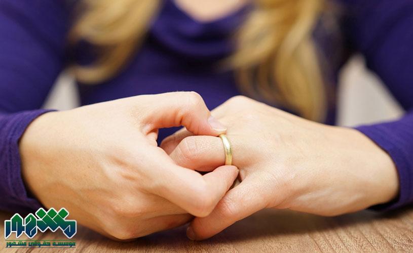 تکلیف مهریه در طلاق غیابی چه میشود؟ وضعیت مهریه در طلاق غیابی
